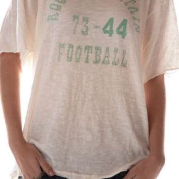 Magnolia Pearl Top 508 Cotton Jersey Rocky Mountain Football T~ True
