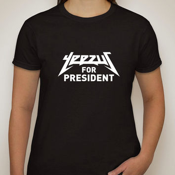 "Kanye West ""Yeezus for President"" T-Shirt"