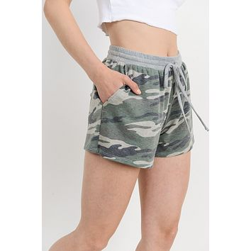 Do This on My Own Camo Shorts