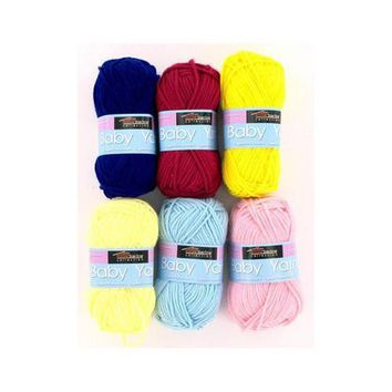 Acrylic Baby Yarn ( Case of 24 )