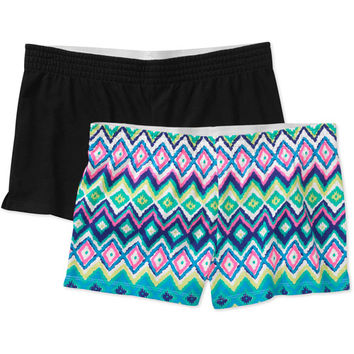 Walmart: No Boundaries Juniors Cheer Shorts 2-Pack