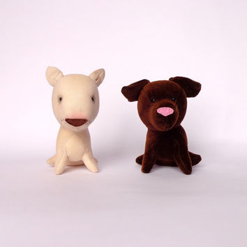 Set Of 2 Toys -Stuffed Animals-two toy dogs-sale10%