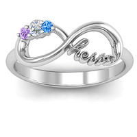 Hessa: Never Parted After Gemstone Ring