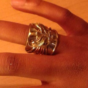 Maat - Goddess of truth/justice - Ancient Egyptian Designed Symbol Ring,