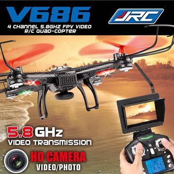 Original JJRC V686G FPV Drone Quadcopter with HD Camera RTF 2.4GHz Real Time Transmission Headless Mode (Mode 1 and Mode 2)