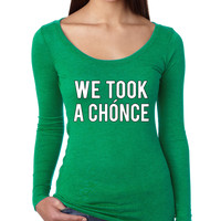 Niall Horan We took a chonce Women's Long Sleeve Shirt