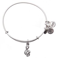 Women's Alex and Ani 'Sweet Melody' Expandable Wire Bangle