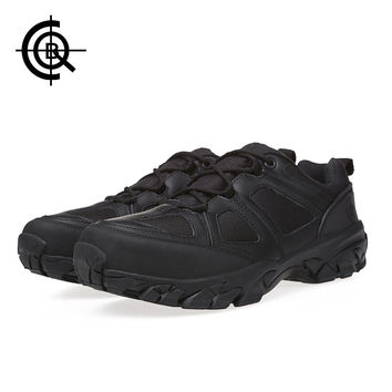 CQB Sport Hiking Shoes Men Climbing Outdoor Shoes Hunting Mountain Boots Non-slip Breathable Trekking Hiking Boots SL0105