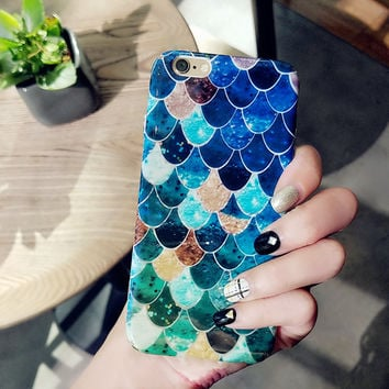 Mermaid Scales Phone Cute Case