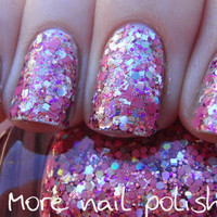 Princess Disco Hand made custom nail polish