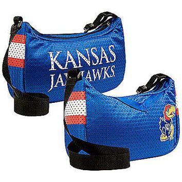 Univ of Kansas KU Jayhawks Jersey Purse Handbag