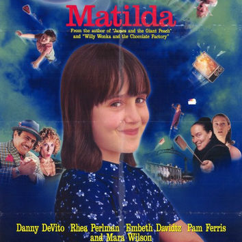Matilda 11x17 Movie Poster (1996)