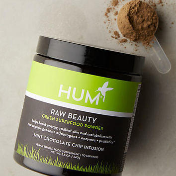 Hum Raw Beauty Green Superfood Powder