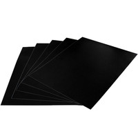 Evelots Set Of 5 Peel & Stick Removable Blackboard Wall Decal Sticker Sheets