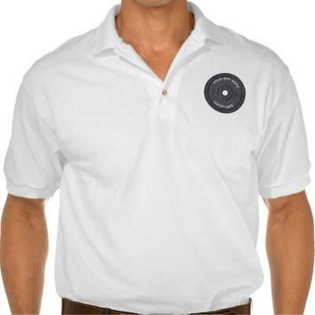 Gym Owner or User With Curved Text Funny Polo T-shirt
