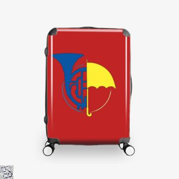 Blue Horn Yellow Umbrella, How I Met Your Mother Suitcase