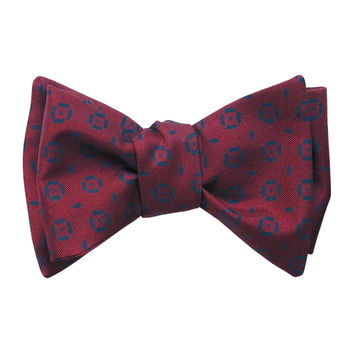 Conero-Silk Self Tie Bow Tie