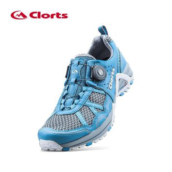 Clorts Women Running Shoes Lightweight BOA Lacing Outdoor Shoes Breathable Sport Running Sneakers for Women 3F013