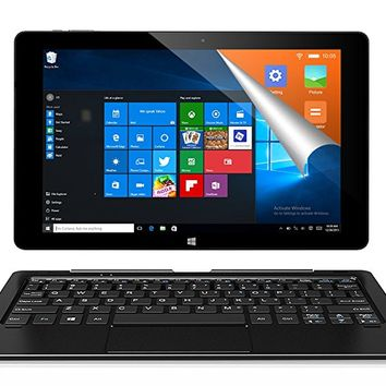 ALLDOCUBE iwork10 Pro 2-in-1 Tablet PC Keyboard, 10.1 inch Laptop, 1920x1200 IPS Screen, Windows 10 + Android 5.1, Intel Atom X5 Z8350 Quad Core, 4GB RAM, 64GB ROM, USB Type-C, HDMI Output, Black