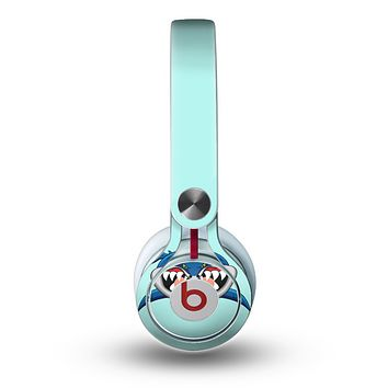The Hungry Cartoon Shark Skin for the Beats by Dre Mixr Headphones