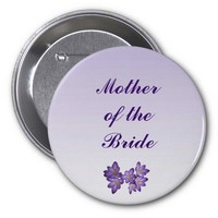 Purple Spring Floral Mother of the Bride Pin