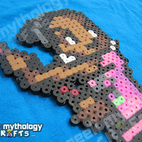 Rochelle Left 4 Dead 2 Custom 8bit Video Game Perler Bead Sprite