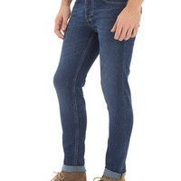 Mid Wash Stretch Skinny Jeans - Mens Jeans - Clothing