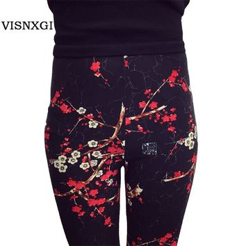 Print Leggings Leggins