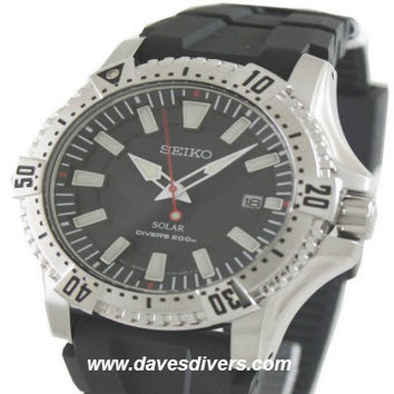 SEIKO SOLAR DIVERS WATCH  SNE293P2