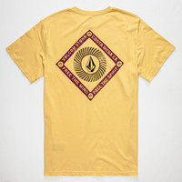 Volcom Freaky V Mens T-Shirt Stone Wash  In Sizes