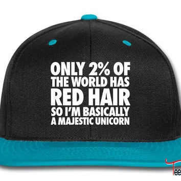 Only 2% Of The World Has Red Hair Snapback