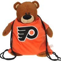Forever Collectibles Philadelphia Flyers Nhl Plush Mascot Backpack Pal