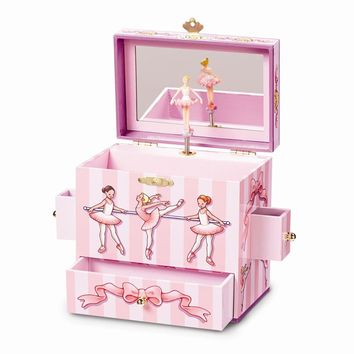 Child's Ballet Class Musical Jewelry Box