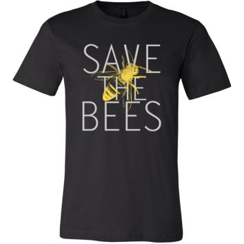 Save The Bees Wild Native Bee Cause T-shirt
