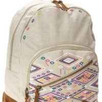 Roxy Juniors Lately Backpack, Dune, One Size