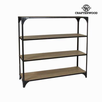 Wood and metal bookcase toronto - Thunder Collection by Craften Wood