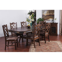Sunny Designs Savannah Collection Seven Piece High Dining Set
