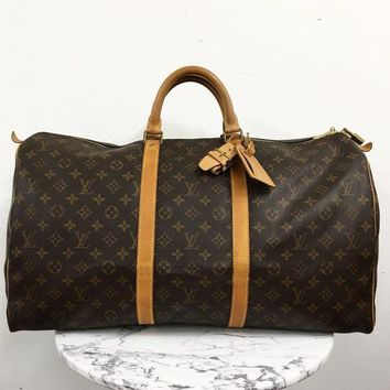 ICIKG2C Louis Vuitton ¡®Keepall 55¡¯ Luggage