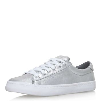 **Lotus Lace-Up Sneakers By Miss KG - Shoes