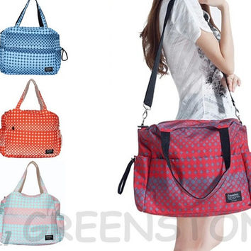 4Color NEW Women's Baby Diaper Nappy Tote Messager Bag  Large Fit Pram ld 32 = 1945924356