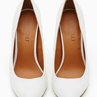 Shoe Cult Minx Pump - White