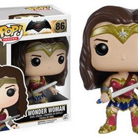 Wonder Woman Batman v Superman Pop! Heroes Vinyl Figures by Funko NIB New in Package 86 New in Box