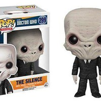 Funko Pop TV: Doctor Who - The Silence Vinyl Figure