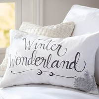 WINTER WONDERLAND PILLOW COVER
