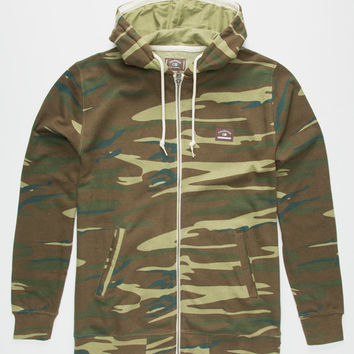 Fourstar Carroll Mens Hoodie Camo  In Sizes