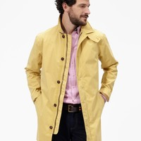 Rainier Mellow Yellow Waterproof Mac | Joules US