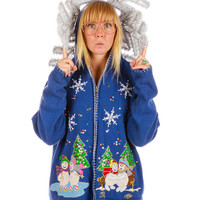 Stay Puffed Ugly Christmas Sweater