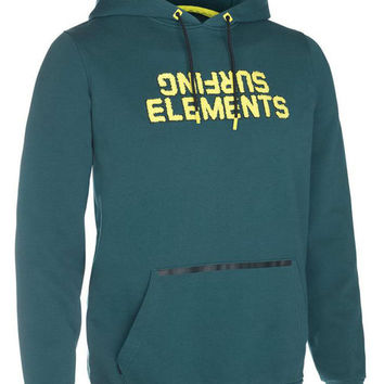 ION Hoody surfing elements 2016 - deap teal