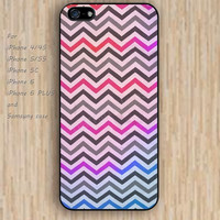 iPhone 6 case colorful Chevron iphone case,ipod case,samsung galaxy case available plastic rubber case waterproof B075