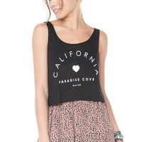 Brandy ♥ Melville |  Mirella Paradise Cove Tank - Just In
